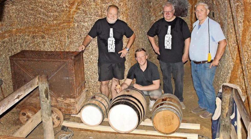 """Mit dem Namen """"Gran Grubenhunt"""" kommt ein limitierter Glen Moray mit Untertage-Finish im Gleissinger Fels Fichtelberg auf den Markt"""