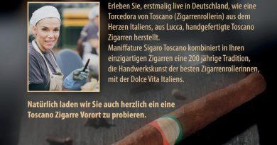 Italienische Ouvertüre im Tabakhaus Büttner in Frankfurt