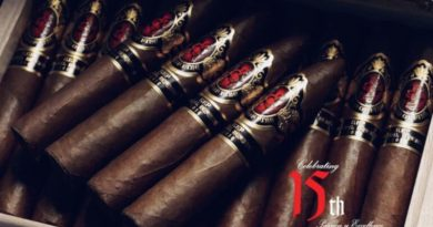 Neue Limitierte Edition God Of Fire 15th Anniversary Cigarren