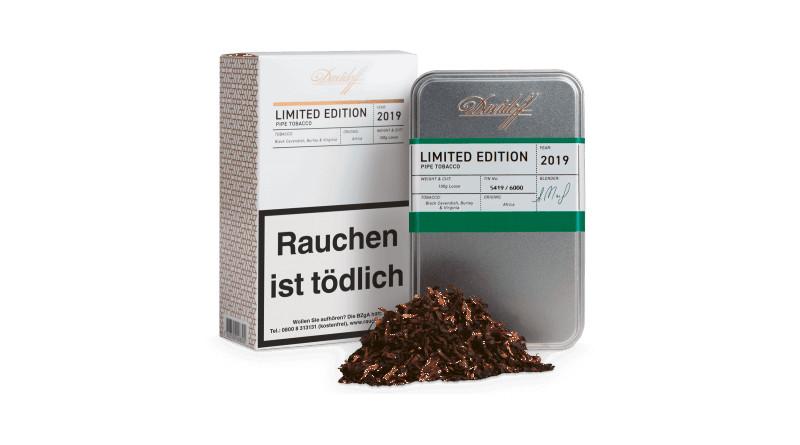 Aktuell aus der Davidoff-Tabakküche: Davidoff Pipe Tobacco Limited Edition 2019