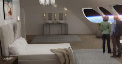Erstes Weltraum-Hotel soll 2025 fertig sein