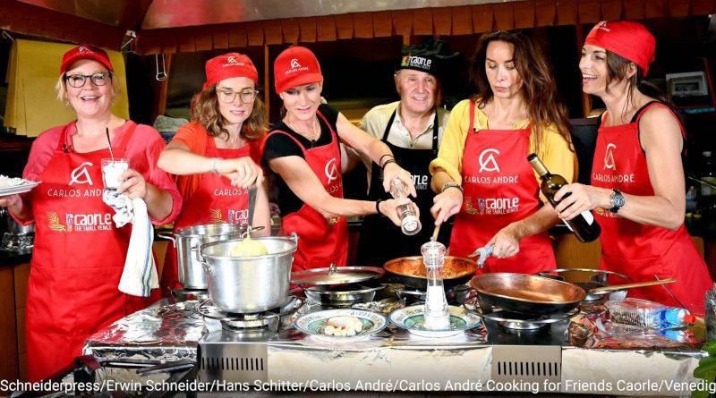 Carlos André Cooking for Friends: Ein Event der Leichtigkeit