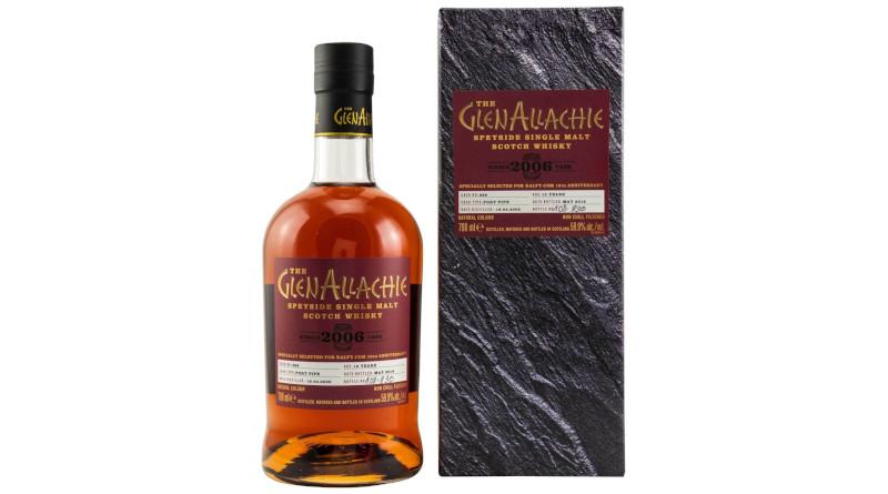 Neu von Kirsch Whisky: GlenAllachie Single Port Cask 13yo