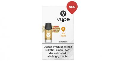 BAT kommt mit diversen Vype-Products in den Handel