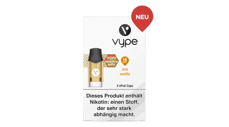 BAT kommt mit diversen Vype-Products in den Handel