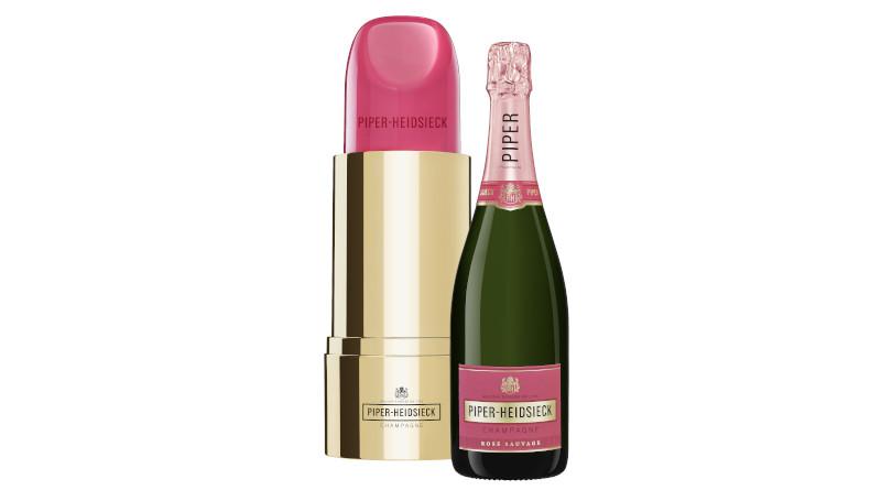 Außen Design, innen Hochgenuss: Piper-Heidsieck Cuvée Brut wieder in der legendären Lipstick-Edition