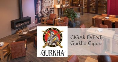 Gurkha Cigars mit Cristina Santana (Regional Sales Managerin) war im Anflug nach Dortmund mal schnell in Gronau