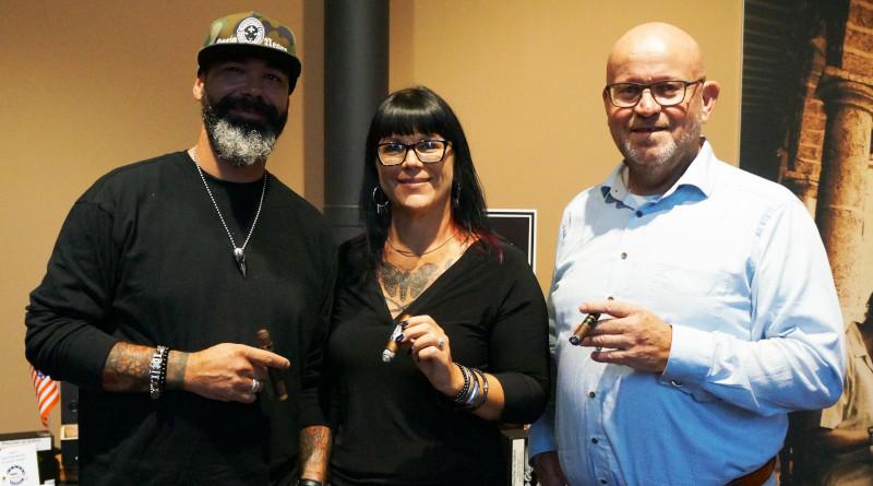 Angela und James Brown (Black Label Trading Company) mit Kleinlagels auf Deutschland Tour / Das InterTabac-Vorgramm läuft auf Hochtouren
