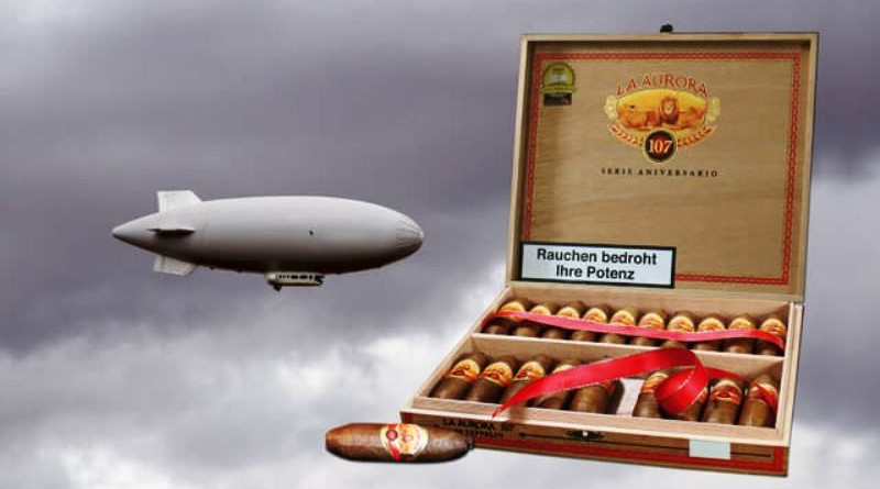 Gewinnspiel mit der La Aurora 107 Zeppelin