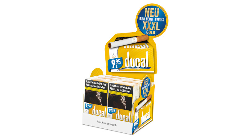 Go for Gold: Ducal Gold Cigarettes 38
