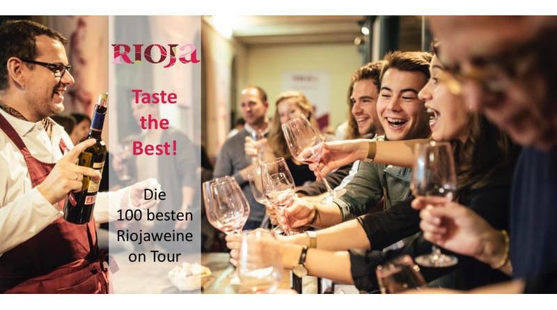 Rioja on Tour Taste the Best Weinfestival