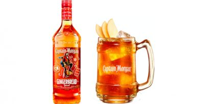 Captain Morgan Gingerbread Spiced Limited Edition