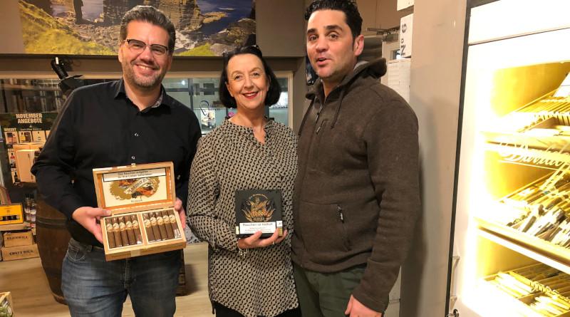 The Nordic Warrior Rike Sambe präsentiert Gurkha Cigars in Eutin