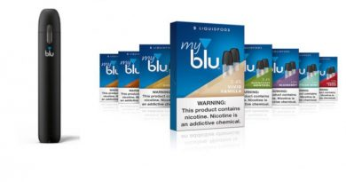 """""""myblu""""- Produkte enthalten kein Vitamin-E-Acetat"""