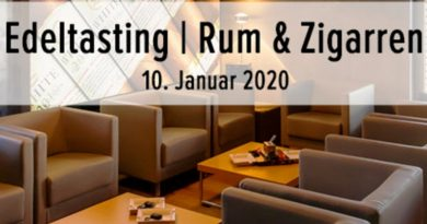 Edeltasting in Rum- und Cigarrentasting in der Leonel-Lounge