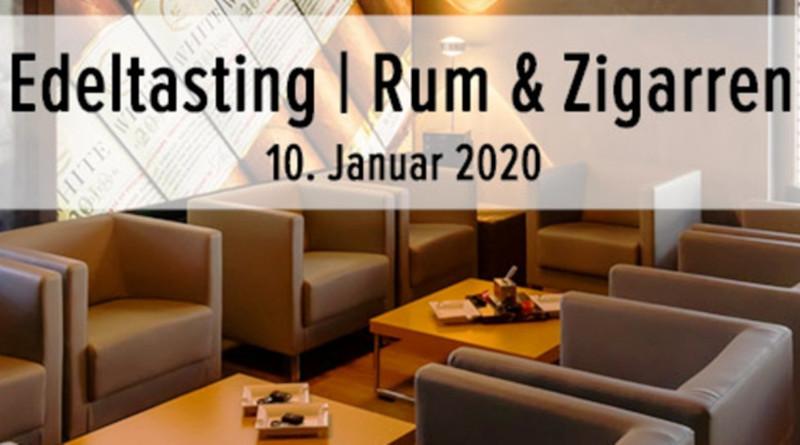 Edeltasting in Rum- und Cigarrentasting in der Leonel-Lounge