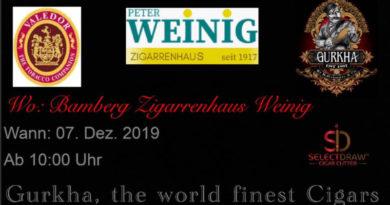 Gurkha kommt nach Bamberg - zu Peter Weinig…