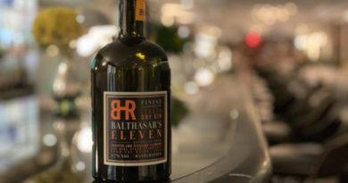 Balthasar's Eleven: London Dry Gin mit Rieslingblüten