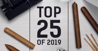 Die Top 25-Cigarren des Jahres 2019 sind prämiert