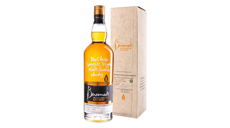 """Benromach Cask Exclusive 2010 """"German Selection by Schlumberger"""""""