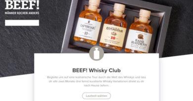 Gruner + Jahr: Wir sind auch Whisky-Club