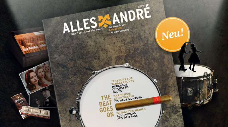 "Arnold André-Magazin: ""The beat goes on"""