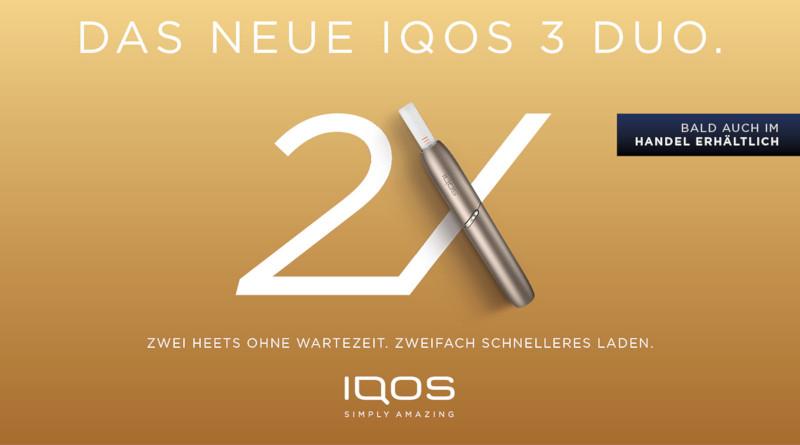 Schnellere Ladezeit und größere Flexibilität - das ist IQOS 3 DUO