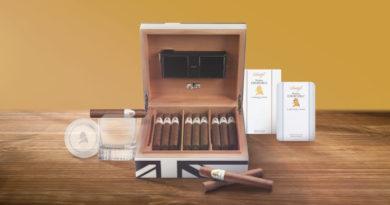 Prägnante Davidoff Kampagne für Winston Churchill-Cigarrenlinien