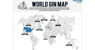 Weltweit über 5.400 unterschiedliche Gins entdeckt