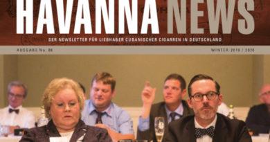 Havanna News No.86 – Die Winter-Ausgabe 2019/2020 ist da