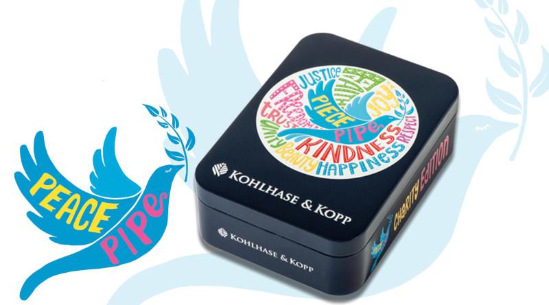 """Friedenspfeife next Generation mit der Kohlhase & Kopp """"Peace Edition"""""""