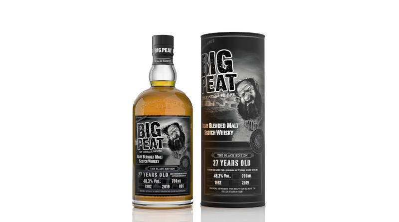 Douglas Laing bringt Big Peat 27 Y.O. Black Edition