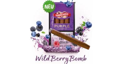 Fruchtiges Gewinnspiel mit Handelsgold Sweet Cigarillos Purple