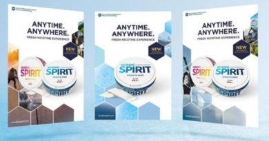 """JTI wirbt in der Schweiz für """"Nordic Spirit"""" mit dem Slogan """"Anytime. Anywhere."""""""