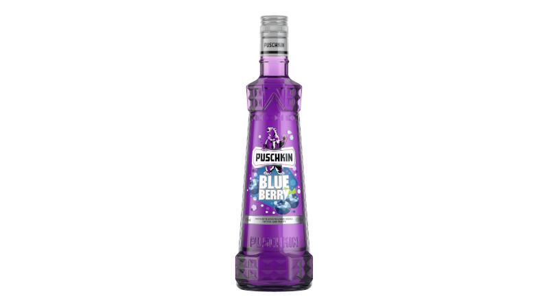 Berentzen-Gruppe präsentiert neue Puschkin-Variante Blueberry