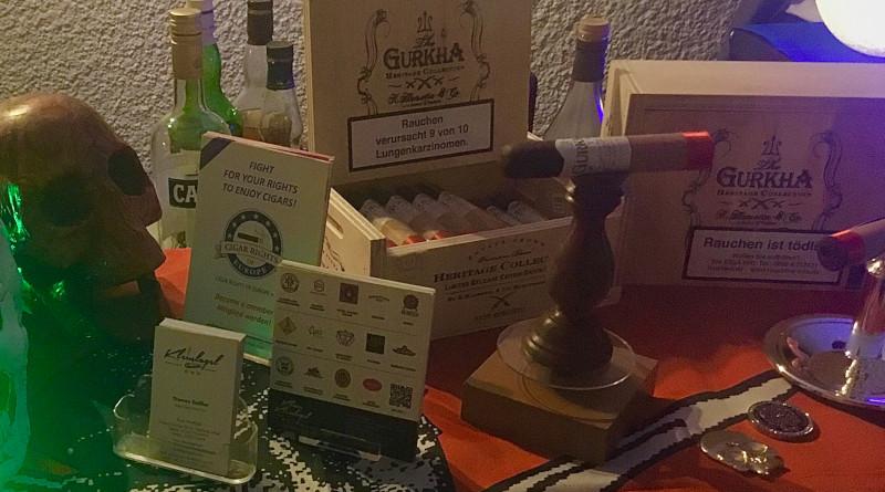 Cigarrenerlebnis mit Vittorio Capezzuto, Michael Kneile und Thomas Geißler
