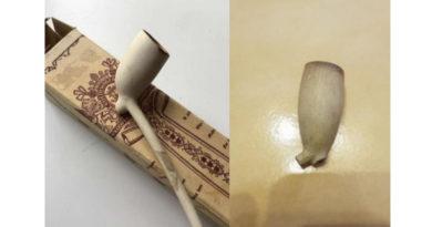 100 Jahre alte Pfeifenreste gefunden