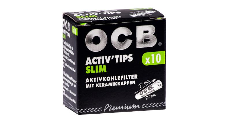 OCB mit neuen Varianten im OCB Activ'Tips-Sortiment