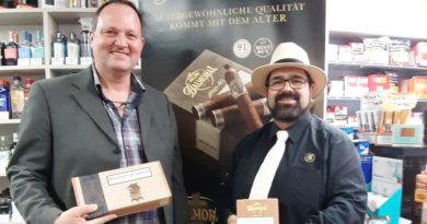 Apartes Cigarren-Tasting im Genusshaus Lehner zur Eröffnung