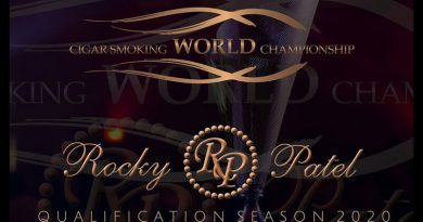 Cigar Smoking World Championship 2020 in trockenen Tüchern