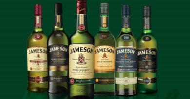 Jameson meldet sehr gute Umsätze und Absatzzahlen