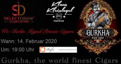 Valentinstag für Aficonados: Ein Genusstag in der Berliner Gurkha-Lounge
