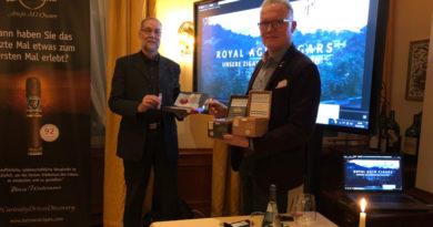 Balmoral gab sich die Ehre: Markenbotschafter Madel in der Bremer Havanna Lounge