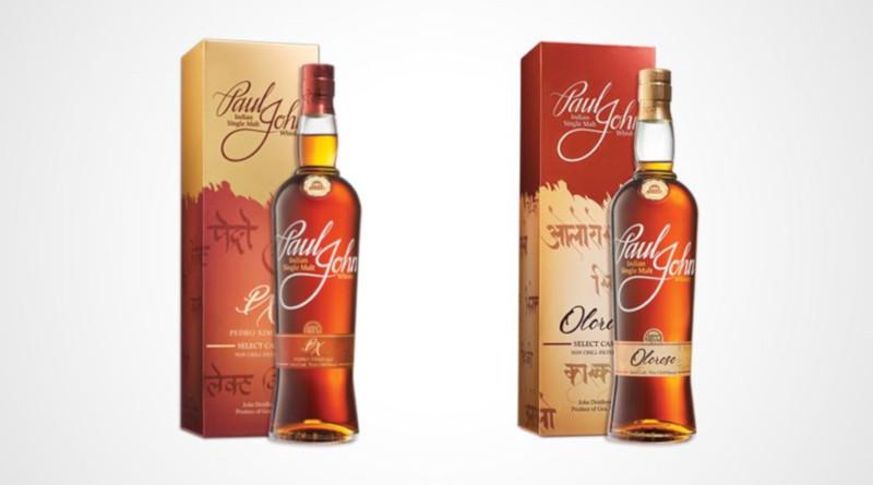 Paul John Whisky launcht Oloroso & Pedro Ximénez Select Casks