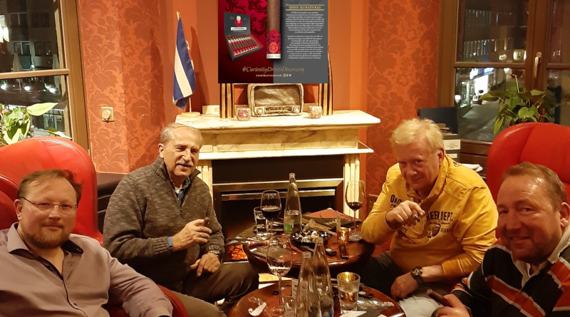 Balmoral- & Drew Estate-Tasting in Nürnberg mit Jürgen Haase und Andreas Jung