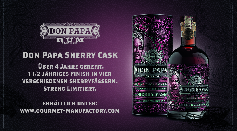 Aktionsangebot für smokersplanet-Leser: Don Papa Rum Sherry Cask