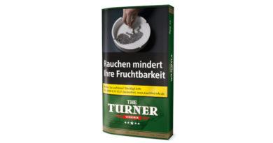 """Pöschl - innovativ wie immer: Neuerungen bei """"THE TURNER""""-Tabaken"""