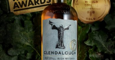 Glendalough Irish Oak Aged Pot Still Whiskey gewinnt 2 x Gold