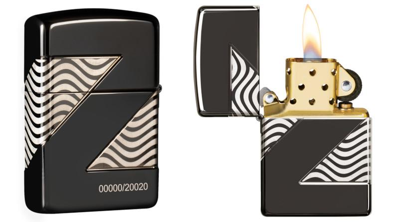 Zippo Z2 Vision - limitierte Auflage des Sammlerstücks 2020 - platziert