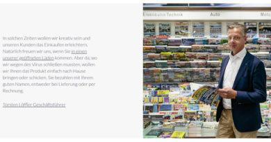 Unternehmensgruppe Dr. Eckert: Wir kommen zum Kunden – Neuer Lieferservice gestartet